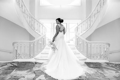 Beautiful bride photo at Georgian Terrace wedding