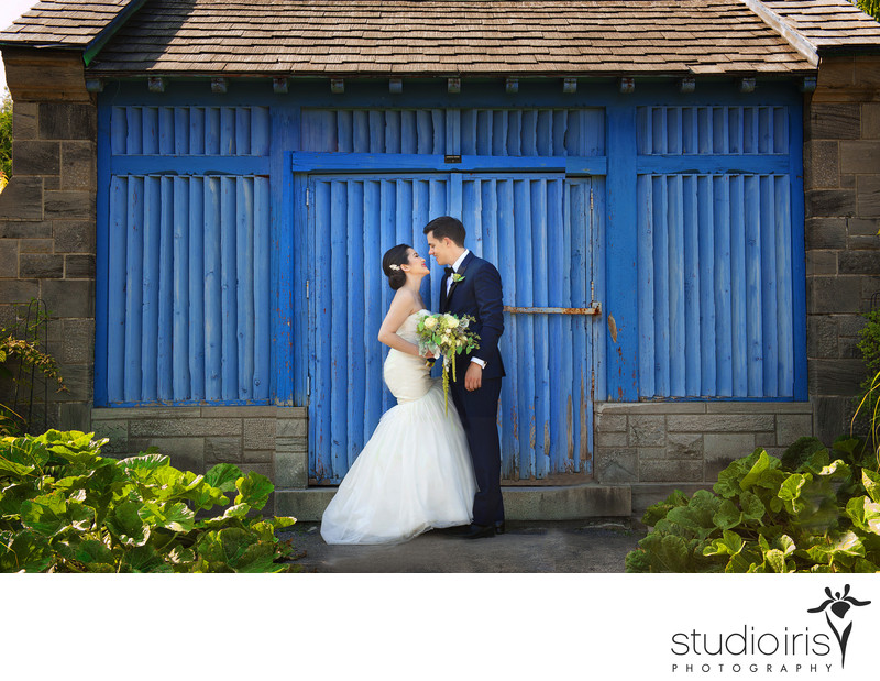 botanical gardens montreal wedding