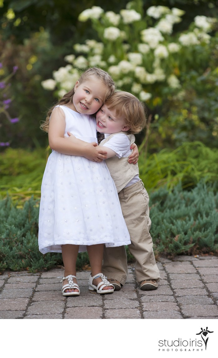 wedding photos with children