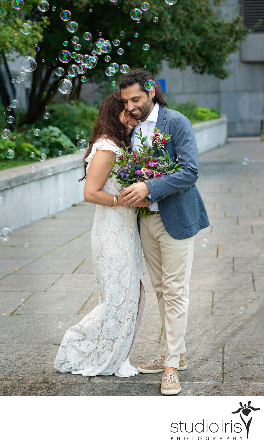 Angela and Jorge's Wedding in Montreal, Canada, August 11, 2018