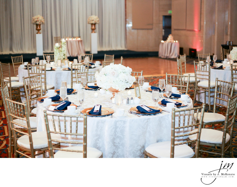 Bolger Center Wedding Reception