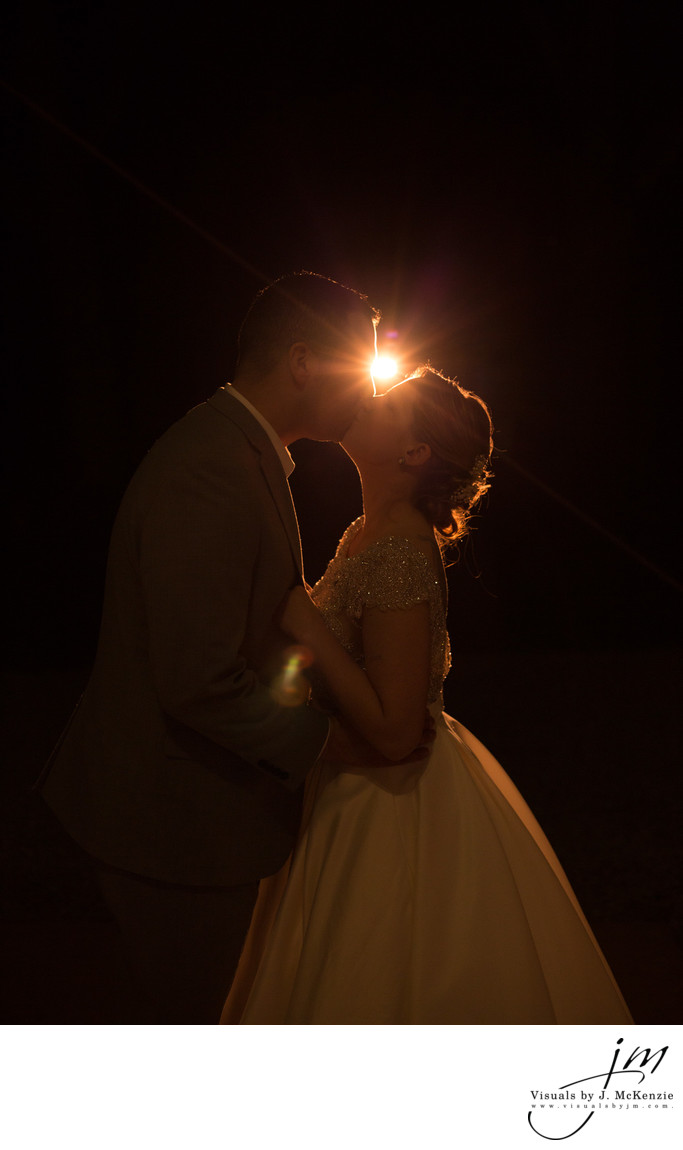 Last Kiss before dawn! Whitehall Estate Wedding
