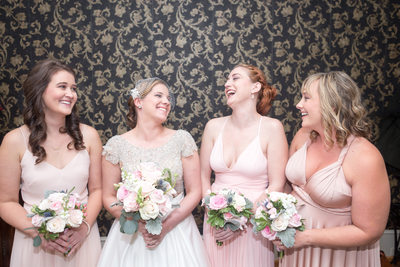The Bride and her Bridesmaids