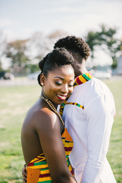 Ghanian Engagement Session on the National Mall in DC
