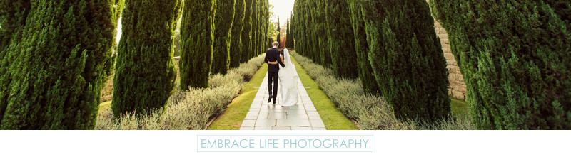 Greystone Mansion Wedding Beverly Hills - B&G Portrait