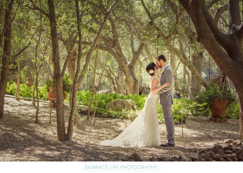 Malibu Wedding Photographer Calamigos Ranch Bride Groom