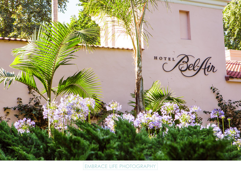 Hotel Bel-Air Wedding Photographer