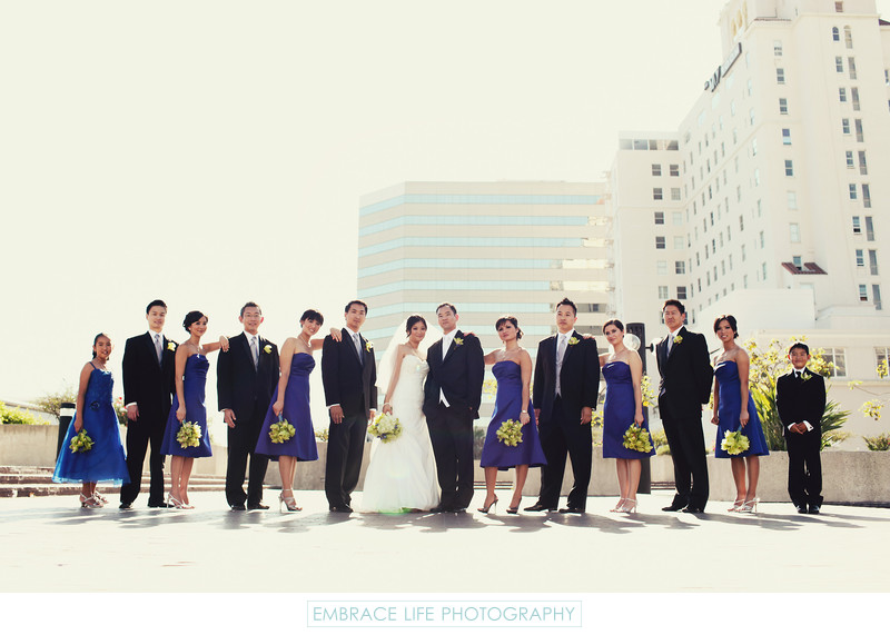 Long Beach Wedding Photographer Renaissance Hotel