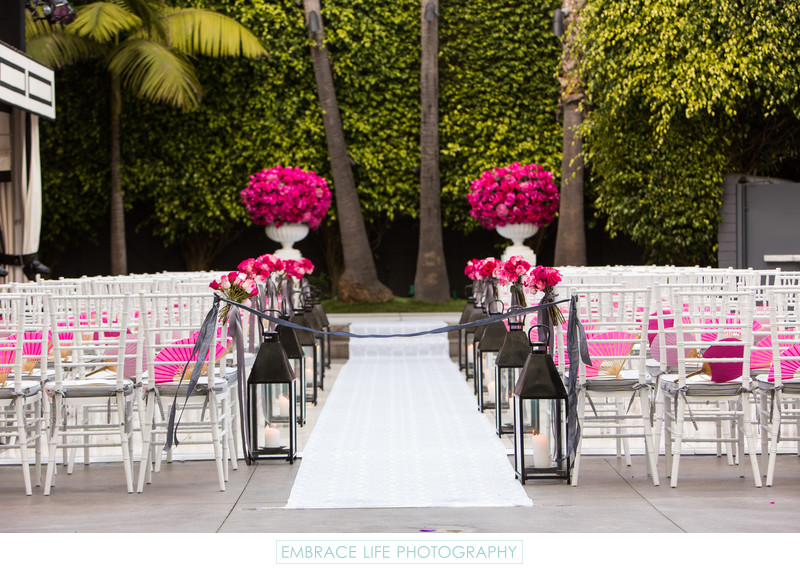 Viceroy Santa Monica Wedding Ceremony