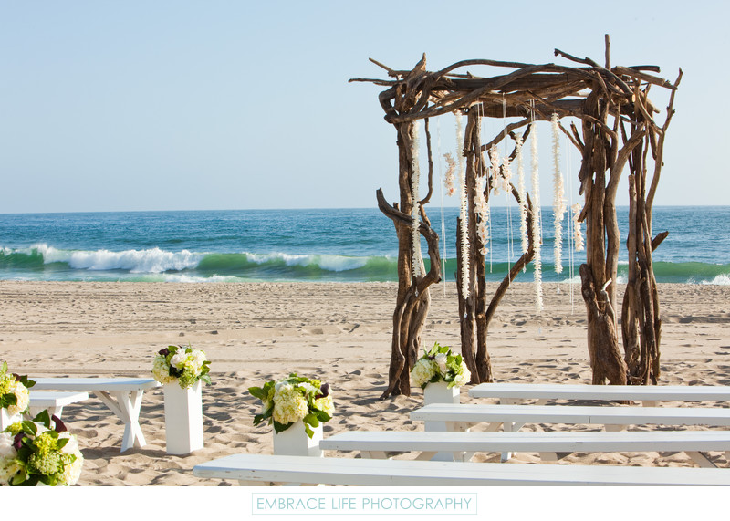 Southern California Beach Wedding Venue in Malibu