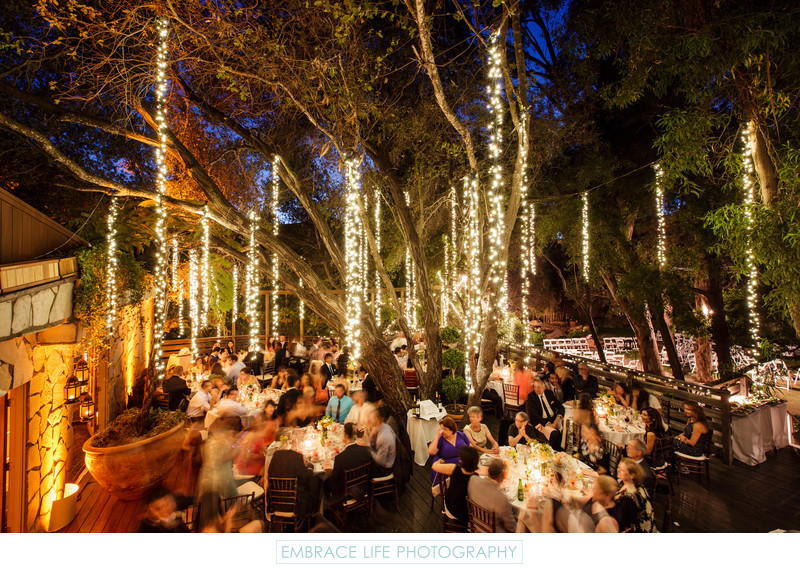 Calamigos Ranch Wedding Reception in Malibu, California