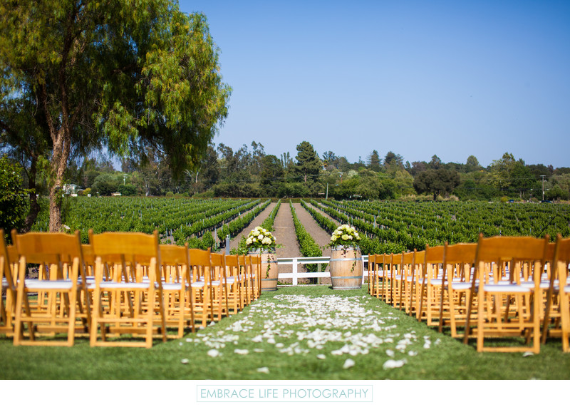 Santa Ynez Winery Wedding at Lincourt Vineyards,