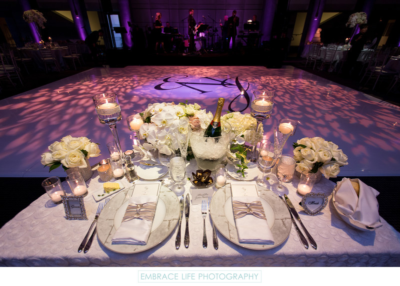 Skirball Cultural Center Wedding Reception