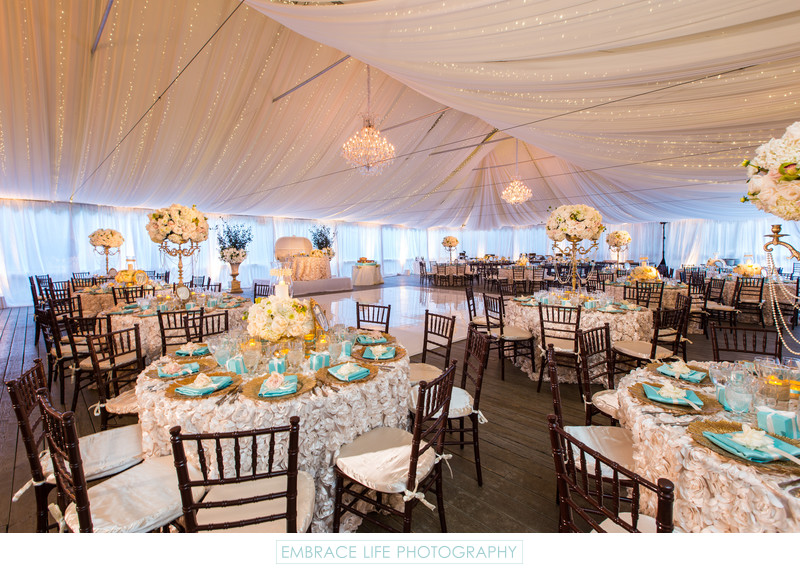 Calamigos Ranch Wedding Reception, Malibu, California