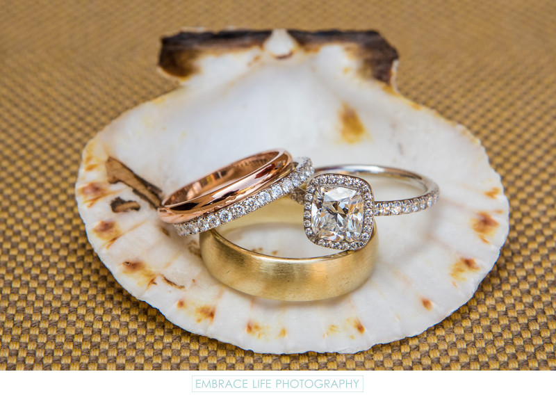 Terranea Resort Wedding, Palos Verdes, CA - Ring Shot