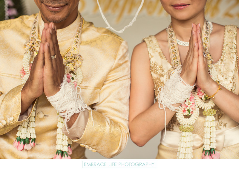 Sai Sin Wedding Ceremony Tradition in Thailand
