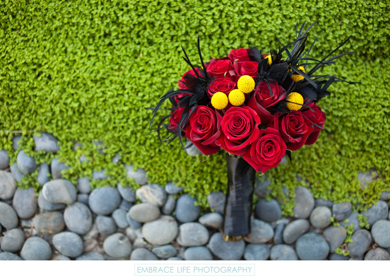 Edgy Bridal Bouquet