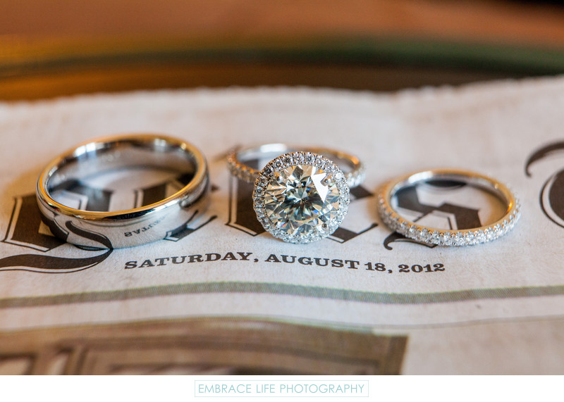 Wedding Rings at Riviera Country Club