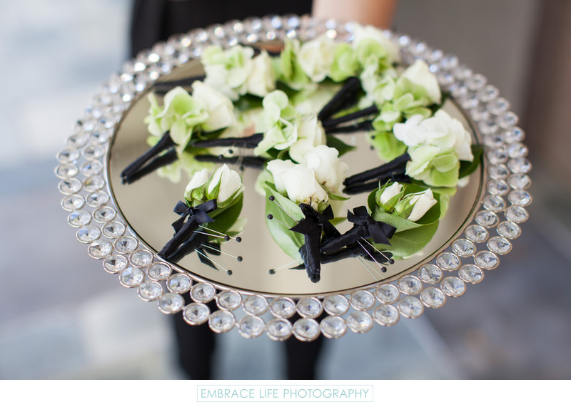 Skirball Center Wedding in Los Angeles - Boutonnieres