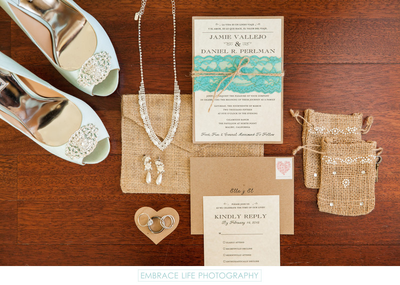 Four Seasons Westlake Village Wedding Invitations