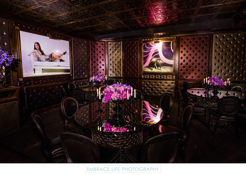 Los Angeles Night Club Bat Mitzvah Event Photography