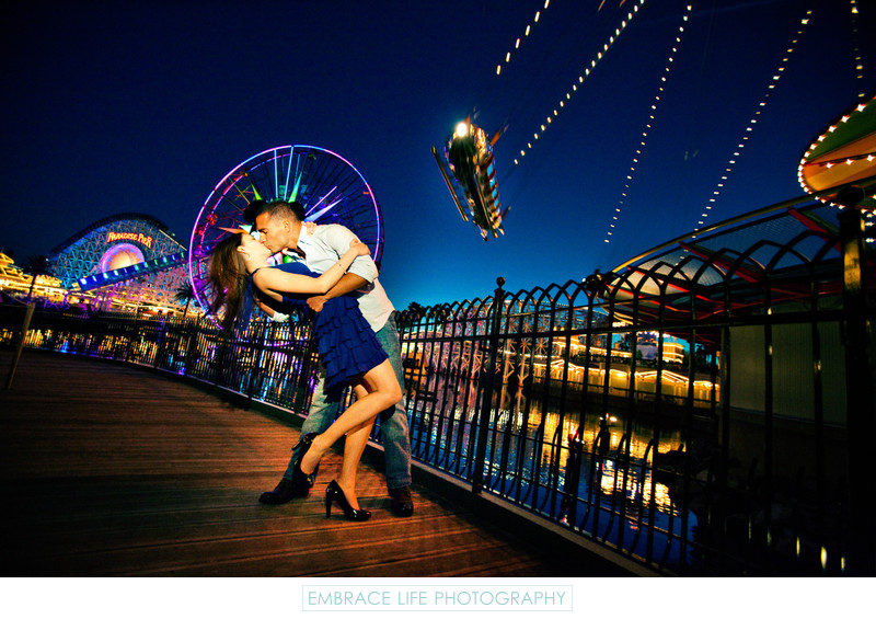 Disneyland Engagement Photographer