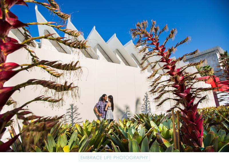 Los Angeles County Museum of Art Engagement Photography