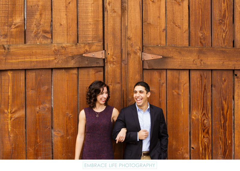 Rustic Engagement Portrait in Agoura Hills, CA
