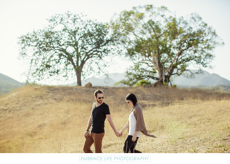 Agoura Hills Engagement Photography in the Mountains