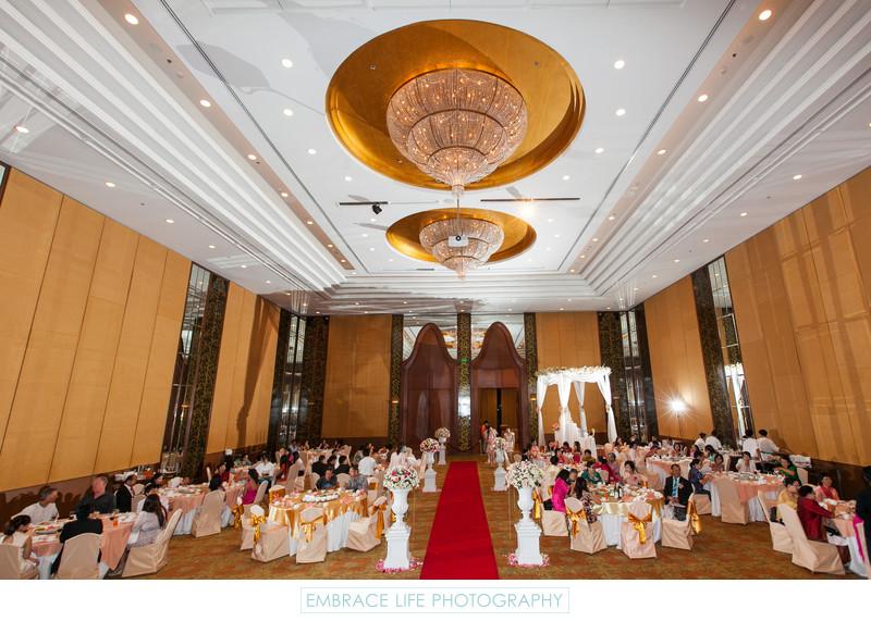 Chiang Mai Ballroom Wedding Reception Thailand Destination Wedding