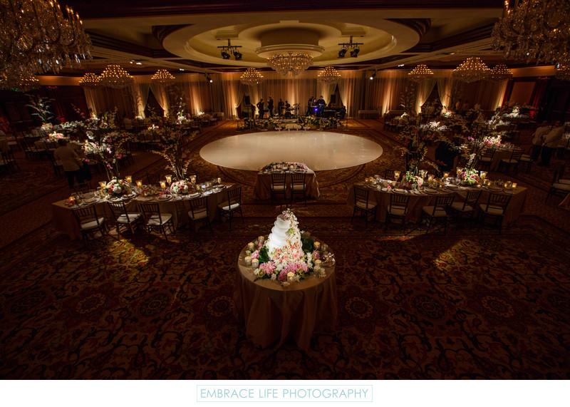 Roses In Garden: Fairy Tale Forest Grand Ballroom Wedding Reception Hall