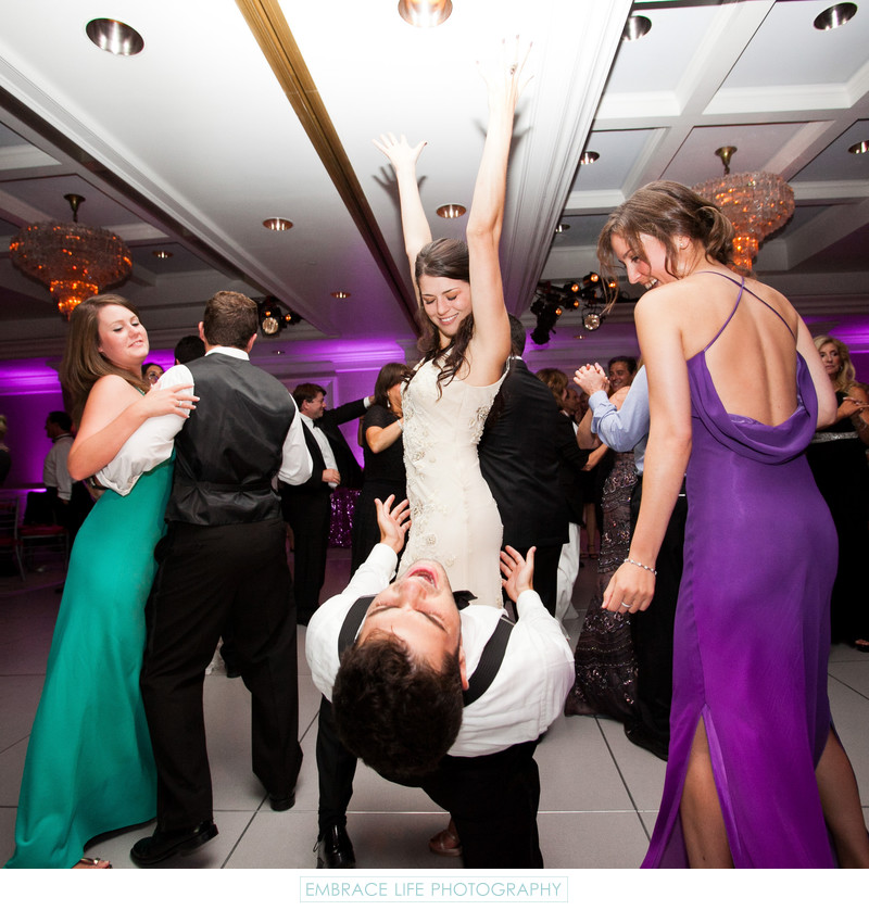 Fun Wedding Reception Photography