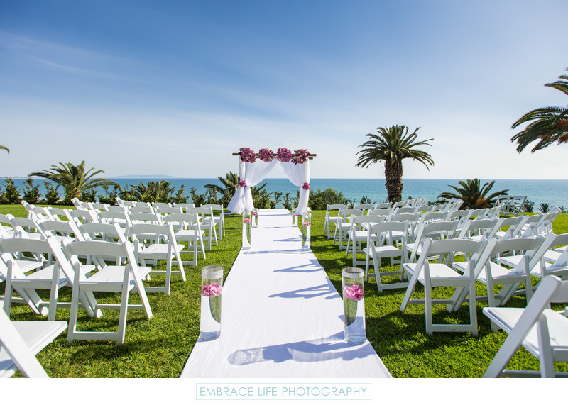 Santa Monica Ocean View Wedding Venue