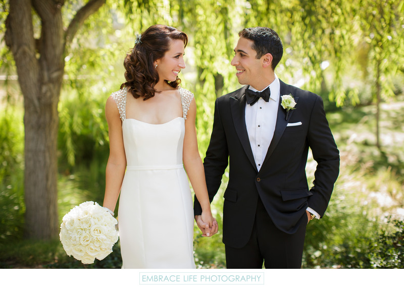 Skirball Cultural Center Wedding Photographer Portrait