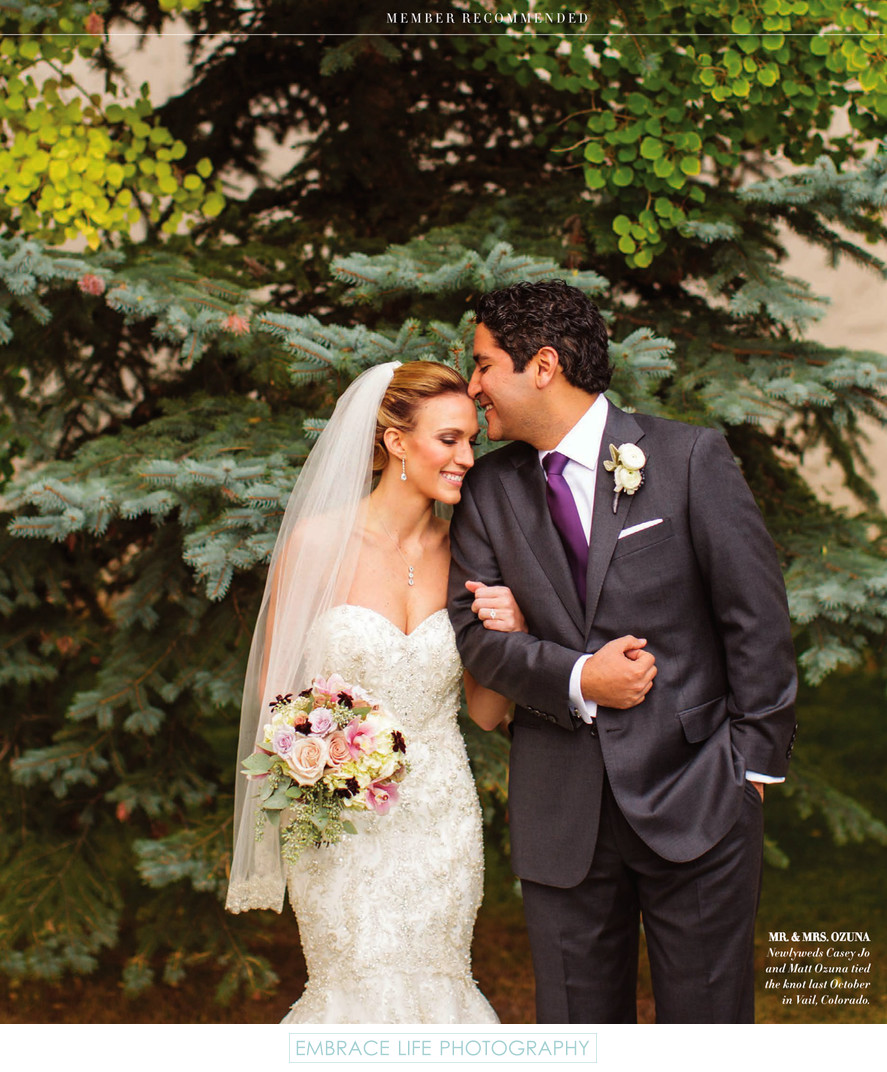 Vail Colorado Wedding Photography - Inspirato Magazine