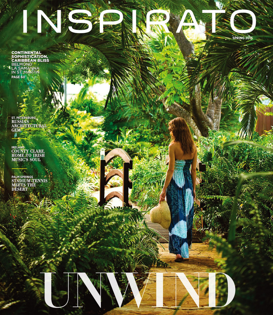 Inspirato Magazine Cover Spring 2015 - Vail Wedding