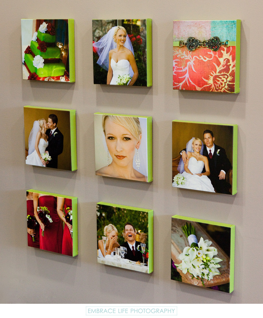 Wedding Photography Canvas Collection