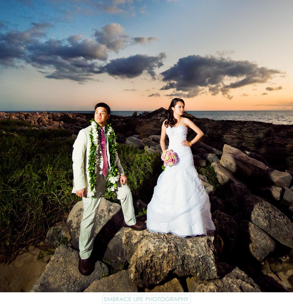 Four Seasons O Ahu At Ko Olina Wedding Photographer Embrace Life