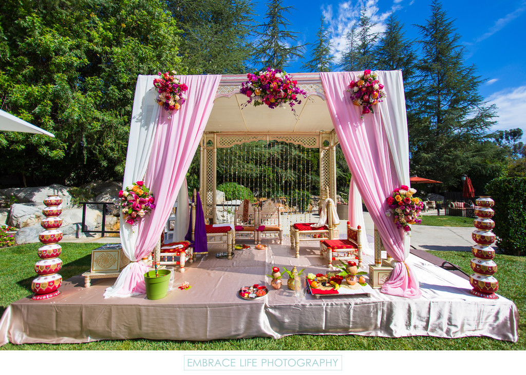Westlake Village Indian Wedding Mandap