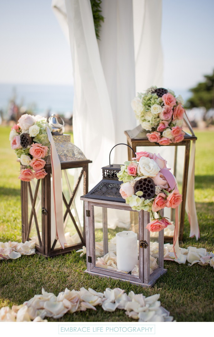 Seagrove Park Beach Wedding Ceremony, Del Mar, C