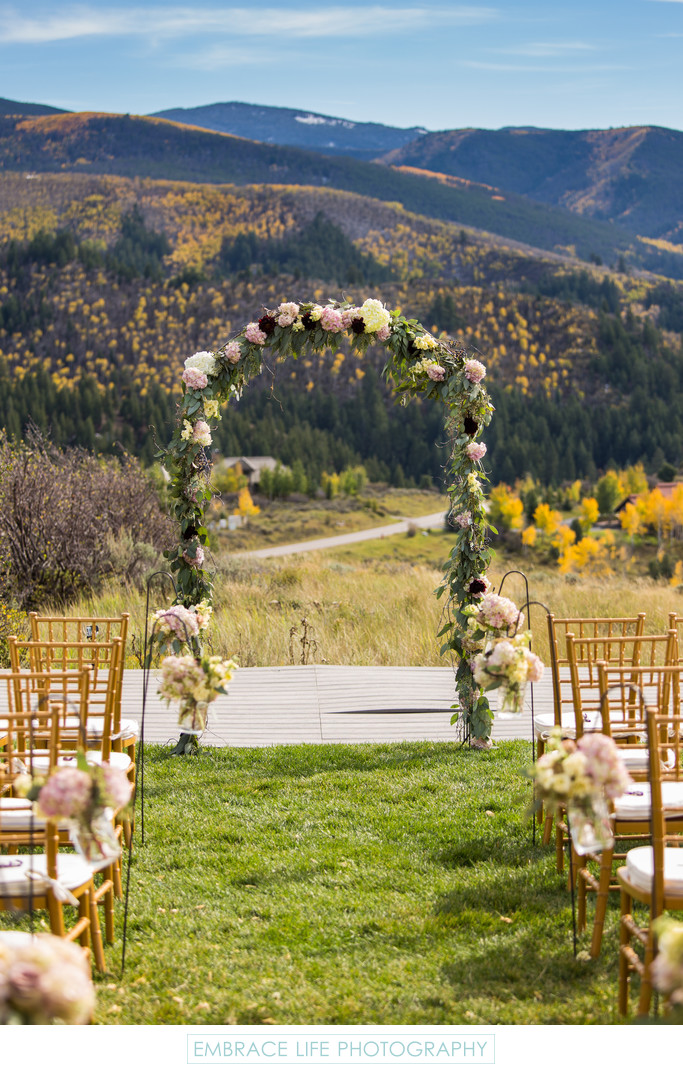 Destination Wedding Photography in Vail Colorado