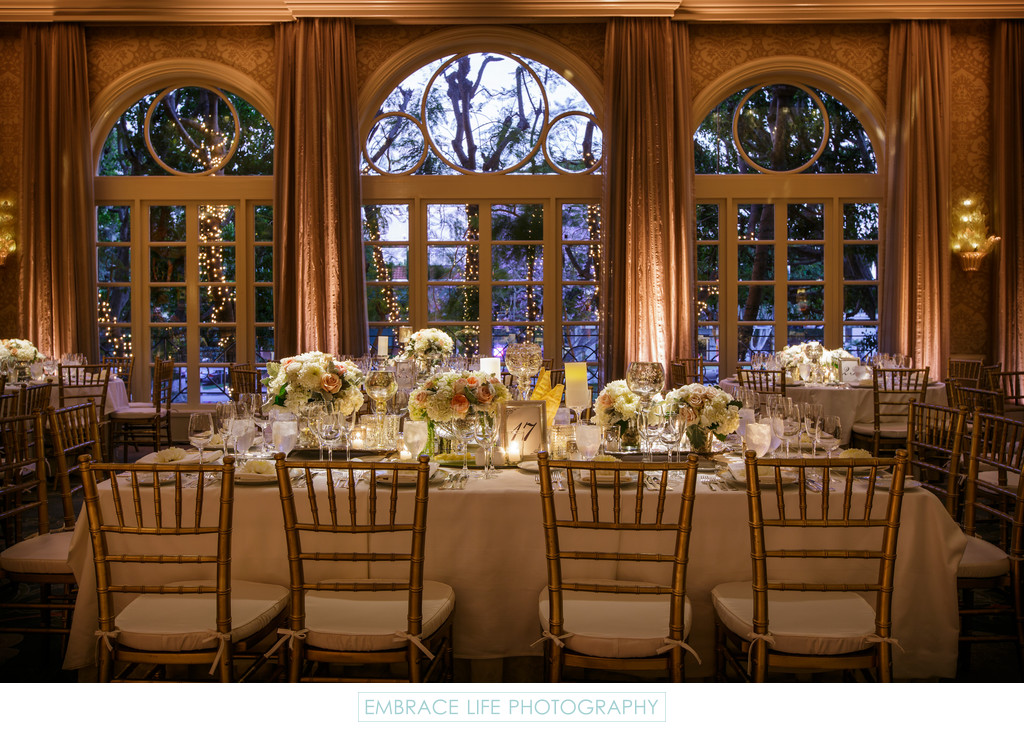 Four Seasons Los Angeles Wedding Reception