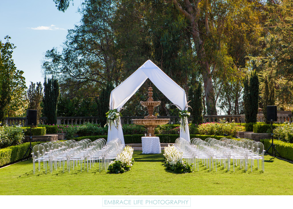 Greystone Mansion Wedding in Beverly Hills, CA