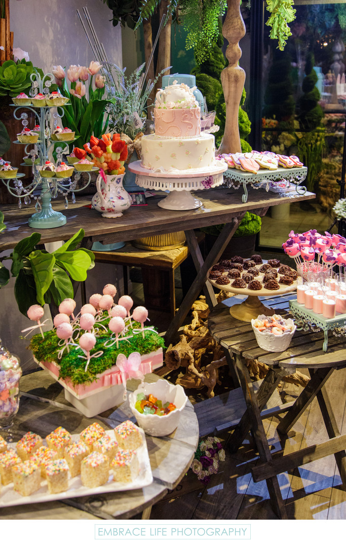 Dessert Table, Westlake Village Party Photographer