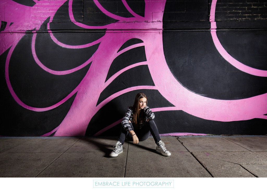 Urban Portrait, Los Angeles Arts District Photographer