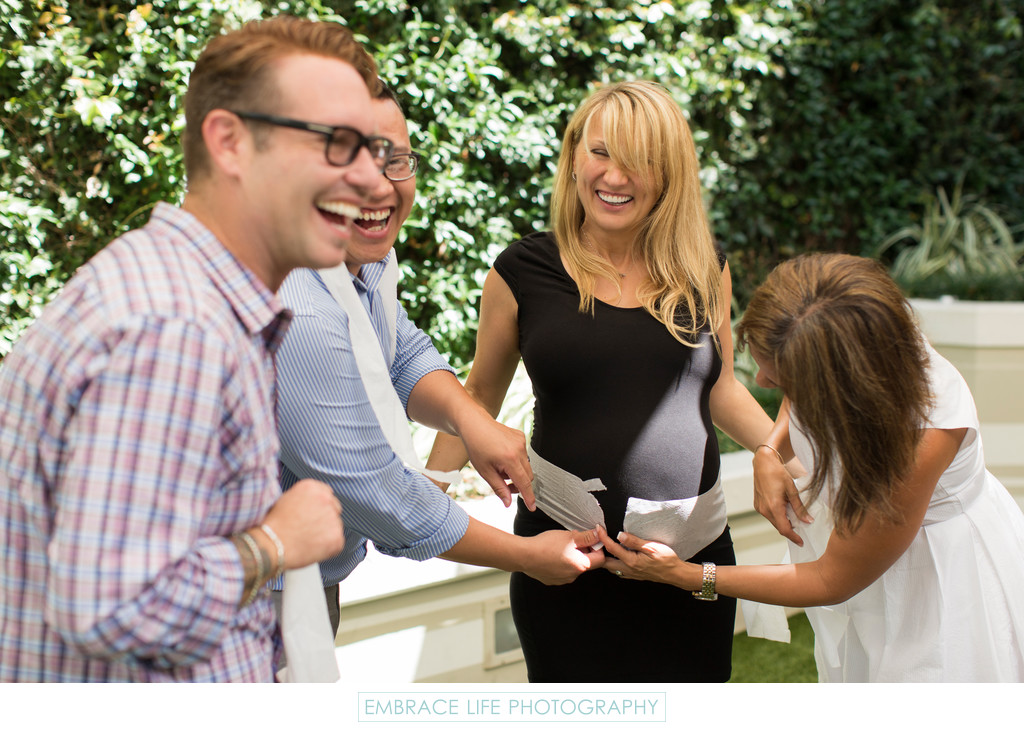 Baby Shower Game, Santa Monica Photographer