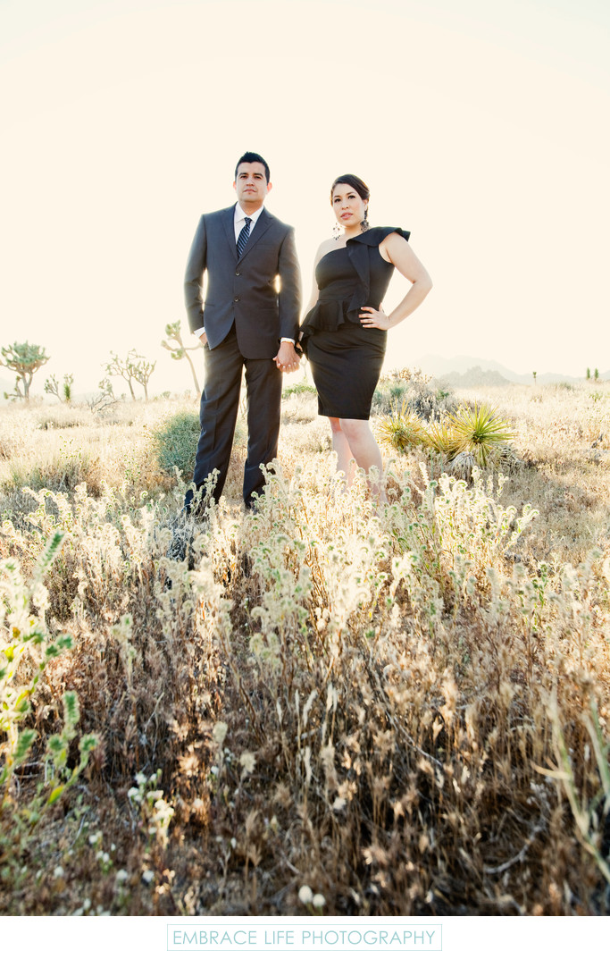 Joshua Tree Engagement Portrait Photography Session