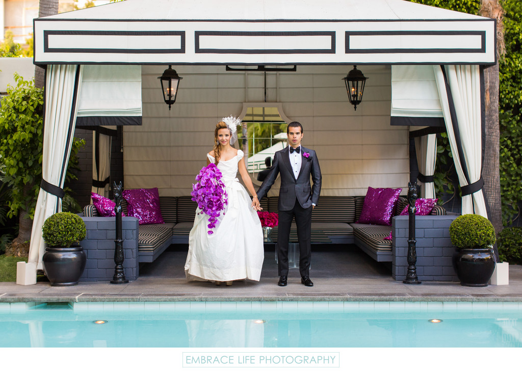 Viceroy Santa Monica Wedding Photographer