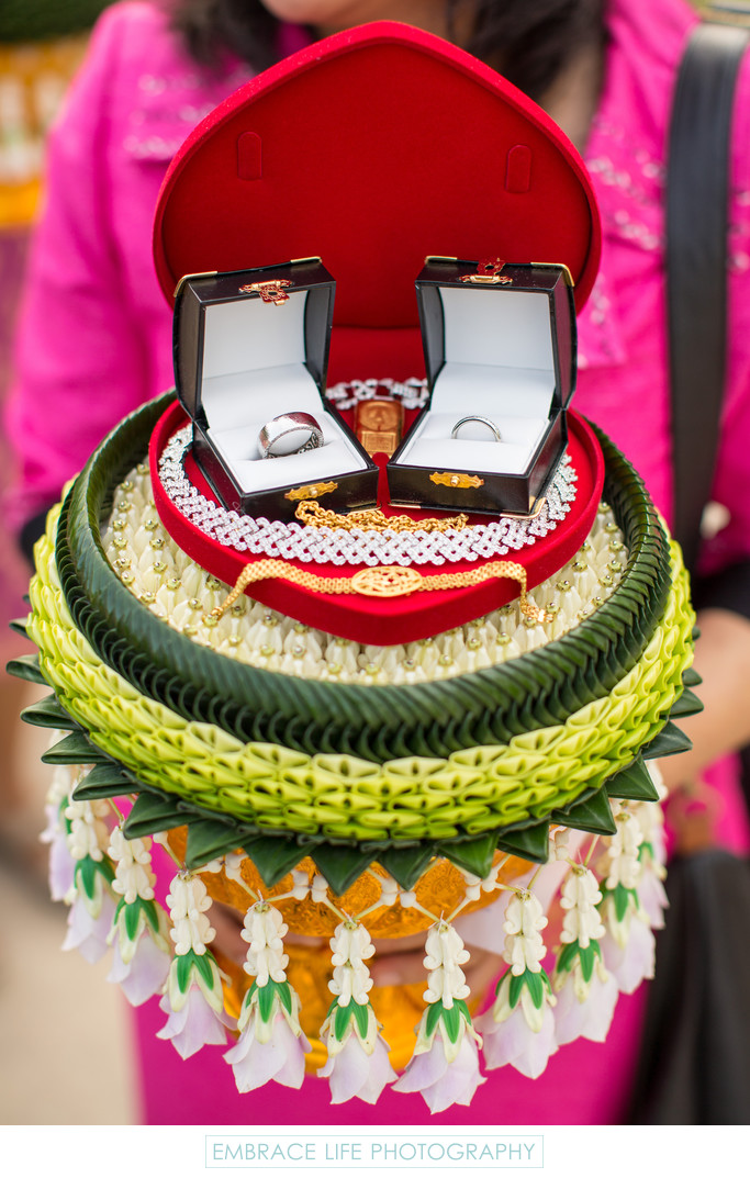 Thai Wedding Ceremony Jewelry