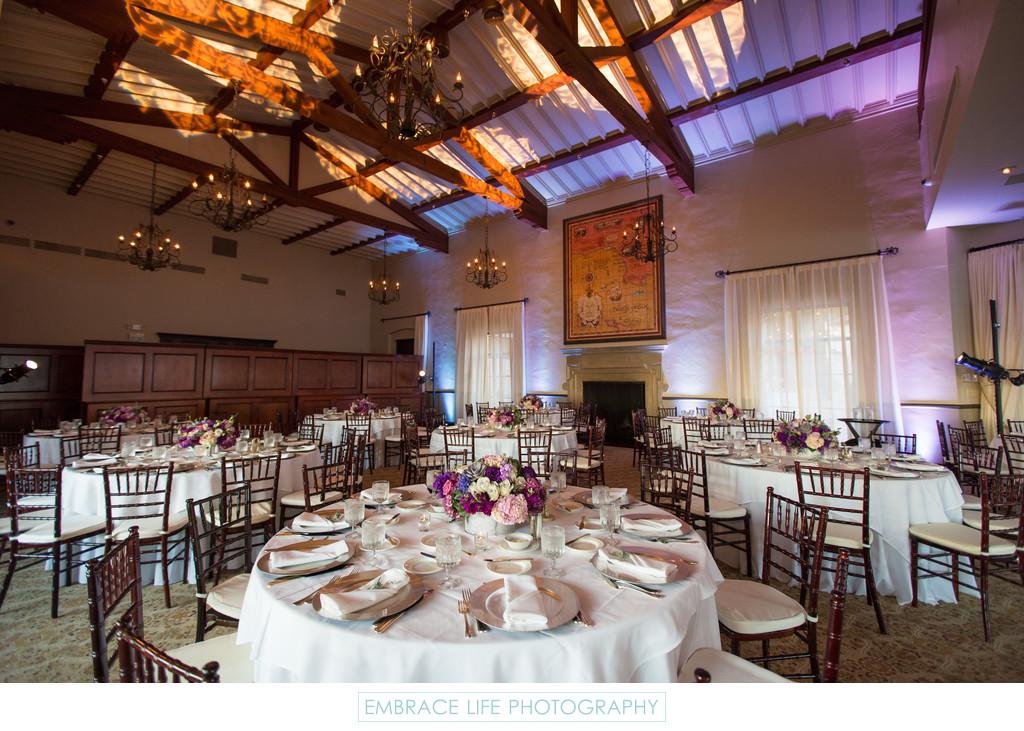 Wedding Reception Lighting Photography: Los Angeles Ballroom Wedding Reception Lighting
